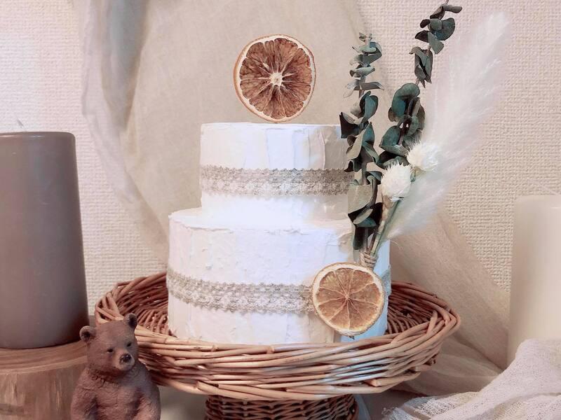 誕生日フォトで映える!クレイ(粘土)ケーキ作りの画像