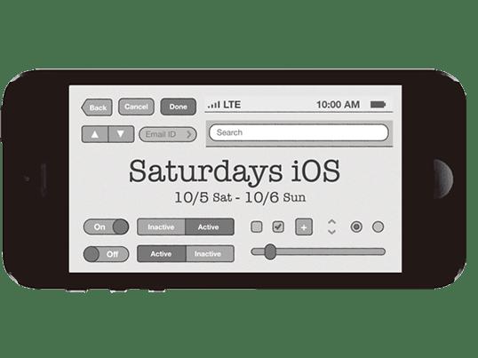 Saturdays iOS - 土日ではじめるアプリ開発の画像
