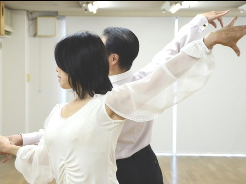 【初心者専門クラス】 誰にでも簡単♢社交ダンス♪ 60分間レッスンの画像