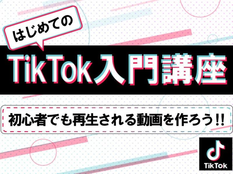【入門編】目指せフォロワー1万人!初めてのTikTok攻略教室の画像