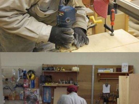 木工電動工具トリマーを使いこなすの画像