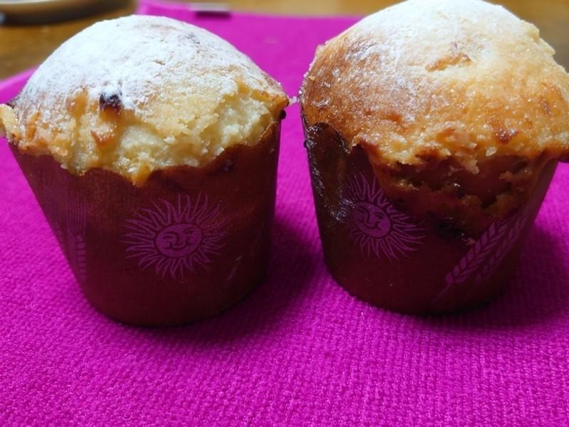 クリームチーズのカップケーキパンの画像