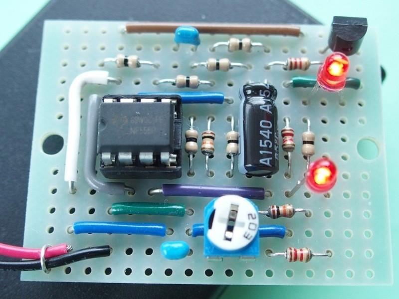 電子工作基礎編 タイマーIC 回路の製作の画像