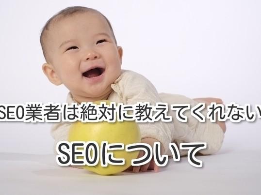 <人気・口コミ1位>SEO業者は絶対に教えてくれないSEOについての画像