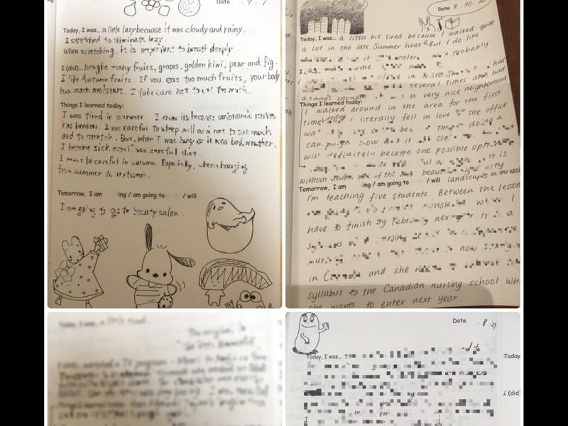 TOEICライティング2回満点講師が教える4週間の英語日記添削講座の画像