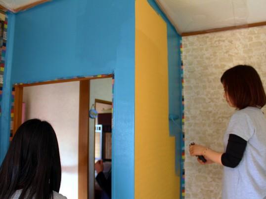 【戸建てで行うDIY】DIYで和室を創ろう!ペイントDIY体験編の画像