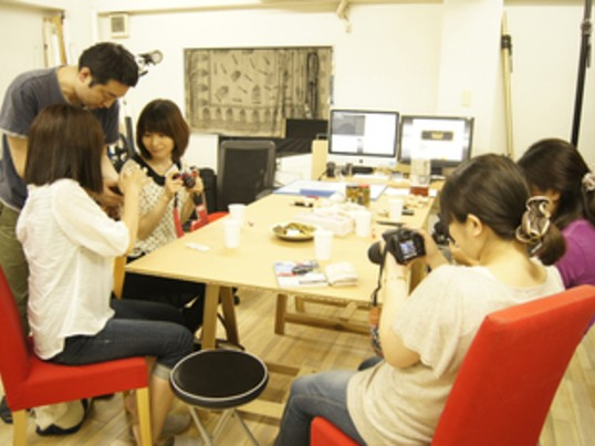 ゼロからのカメラ!スタジオで基礎を学ぶの画像