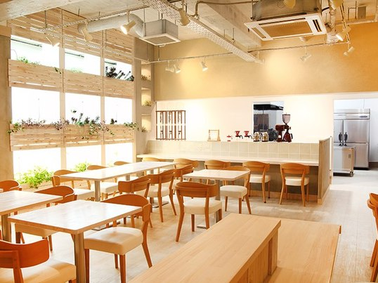 カフェにて笑顔のベビーマッサージ教室☆ の画像