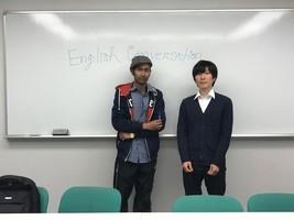 ディスカッションブース・初心者用ブースありの英会話教室です!