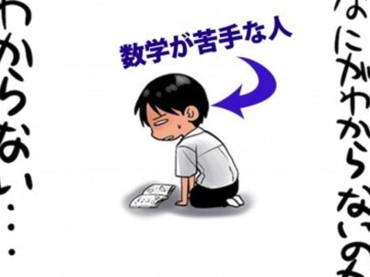 数学が苦手な人が克服する為のマンツーマン講座!!の画像