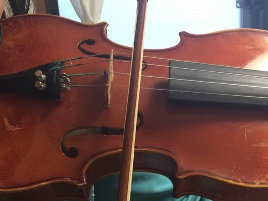 ちょこっとかじりたいバイオリン♪@表参道の画像