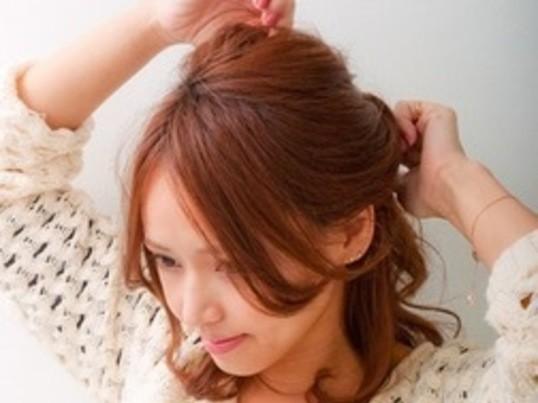 巻き髪・ヘアアレンジレッスンの画像