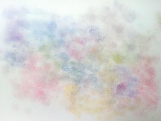 【超初心者歓迎】たった2時間で心がスッキリ!3色パステルアートの画像