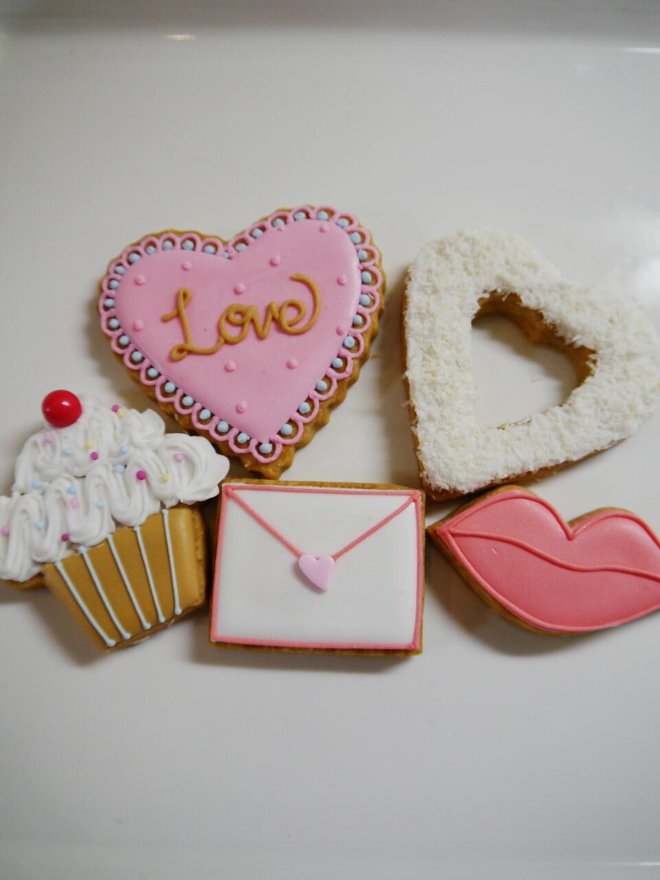 アイシングクッキーLESSON☆バレンタインにプレゼント♪