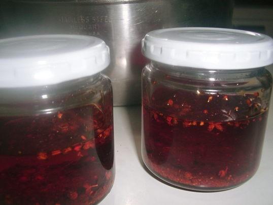 辣油を作る ~美味しい我が家の辣油で水餃子を食べましょう~の画像