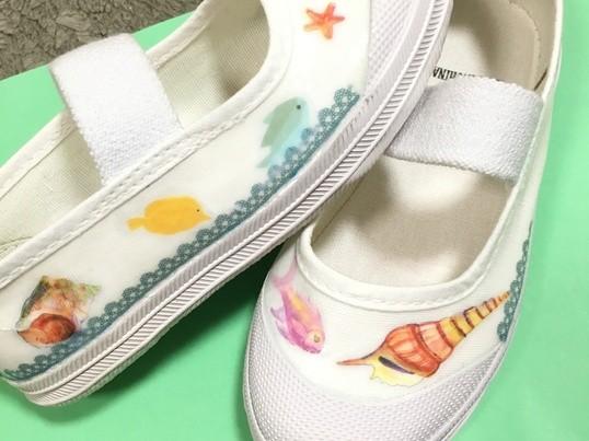【博多マルイ開催】上履きやスニーカーなどを可愛くデコレーション♡の画像