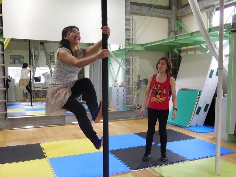 全身運動の極み!チャイニーズポール 東日本で唯一レッスンを開催中!の画像