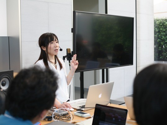 Apple認定トレーナーが開催GarageBand for iOSの画像