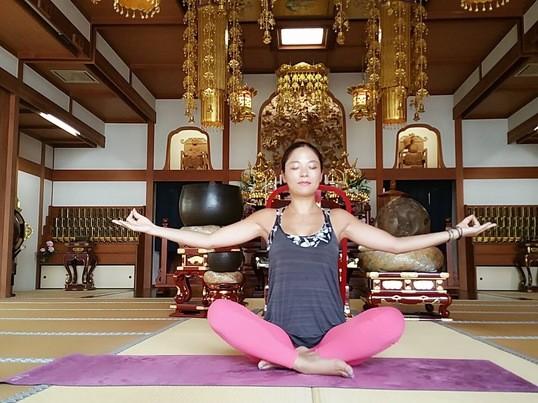 2019年最終回!横浜のモダンなお寺で心もスッキリyogaの画像