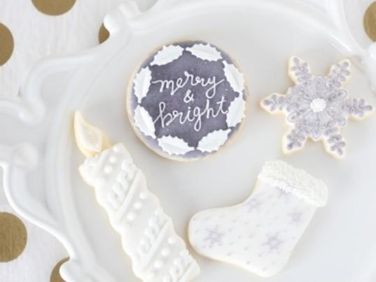 講師資格取得も可☆アイシングクッキーgrayクリスマスの画像