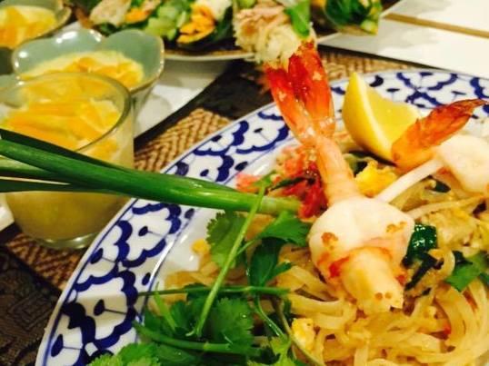 11月の 大人気なタイ定番麺料理!パッタイ・クン(タイ風焼きそば)の画像