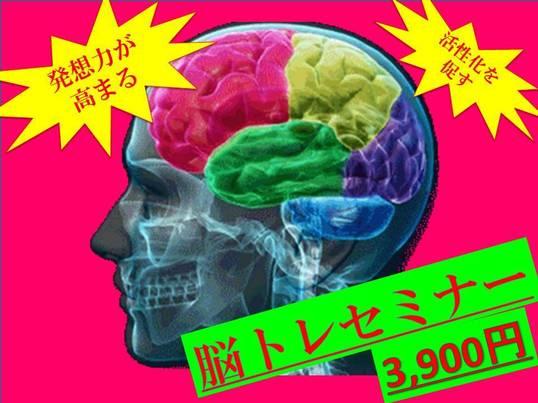 脳トレ実践セミナーの画像