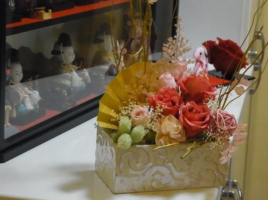 【癒しのプリザーブドフラワーヒーリング講座】の画像