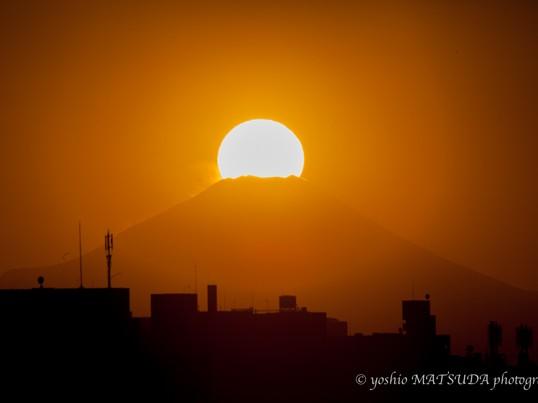 ダイヤモンド富士を撮りにいこうの画像
