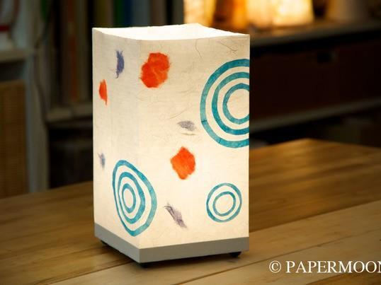 【東京自由が丘 手作りライト】その日から使えます!和紙角あんどんの画像