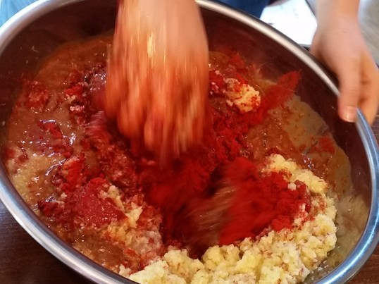 ~乳酸菌~ 発酵ヤンニョム(キムチの素)と水キムチを簡単手作り!の画像