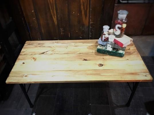 おうちカフェ♪アイアンレッグのローテーブルの画像