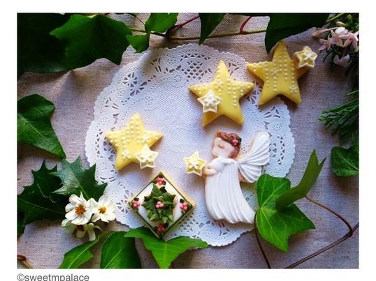【ビギナークラス】オーガニックアイシングクッキー・クリスマスの画像