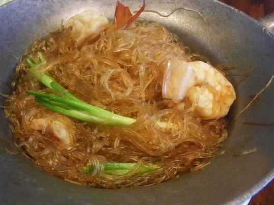 タイ料理を作ってみよう!! 海老と春雨鍋!!の画像