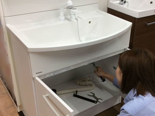 家中の排水修理、交換の画像