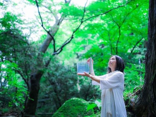 楽しくヲシテ文字を書く会in東横線多摩川駅の画像