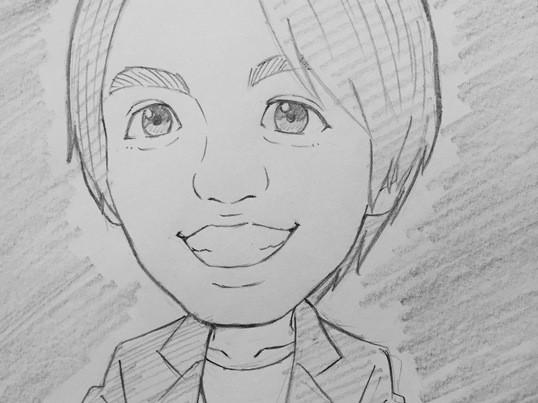 【アニメーター直伝】誰でも2時間で「似顔絵」が描けるようになる講座の画像