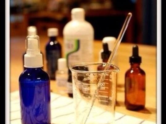 安心!安全!美肌を作る手作り化粧水講座の画像