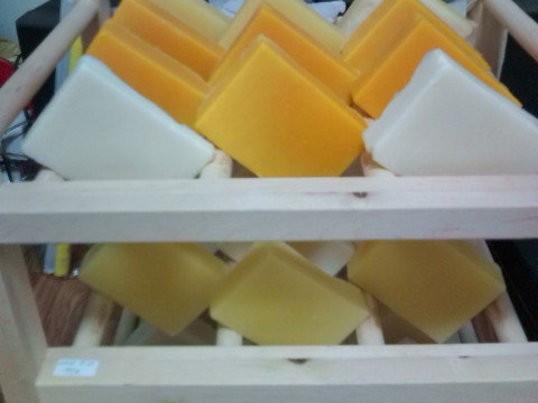 洗顔後に肌がつっぱらないオリーブオイルたっぷりのマルセイユ石鹸の画像