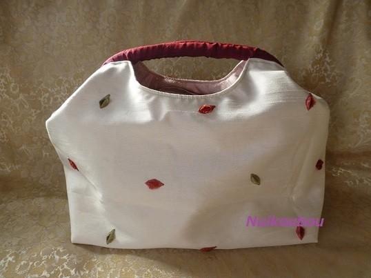 おとなの手芸・洋裁教室~アルミねじ式ばね口金のバッグ~の画像