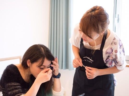 美容師が教えるセルフマツエク♡インストラクター養成講座の画像