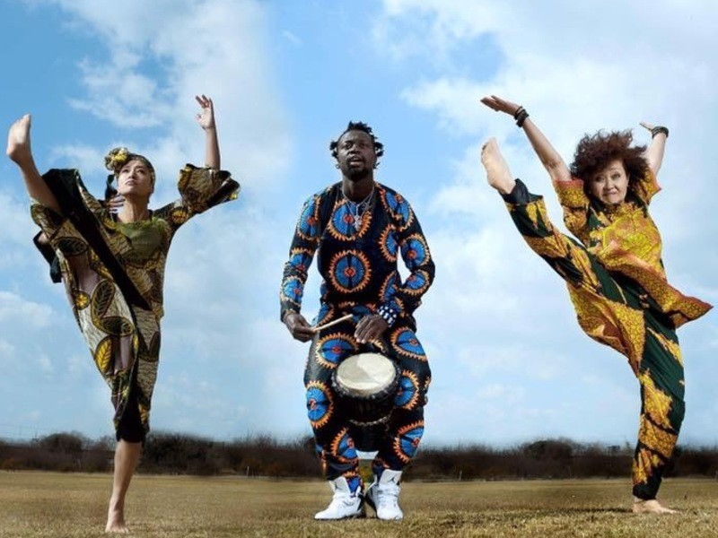 (大阪・谷町四丁目)毎月第2・4水曜セネガルのドラム&ダンス講座の画像