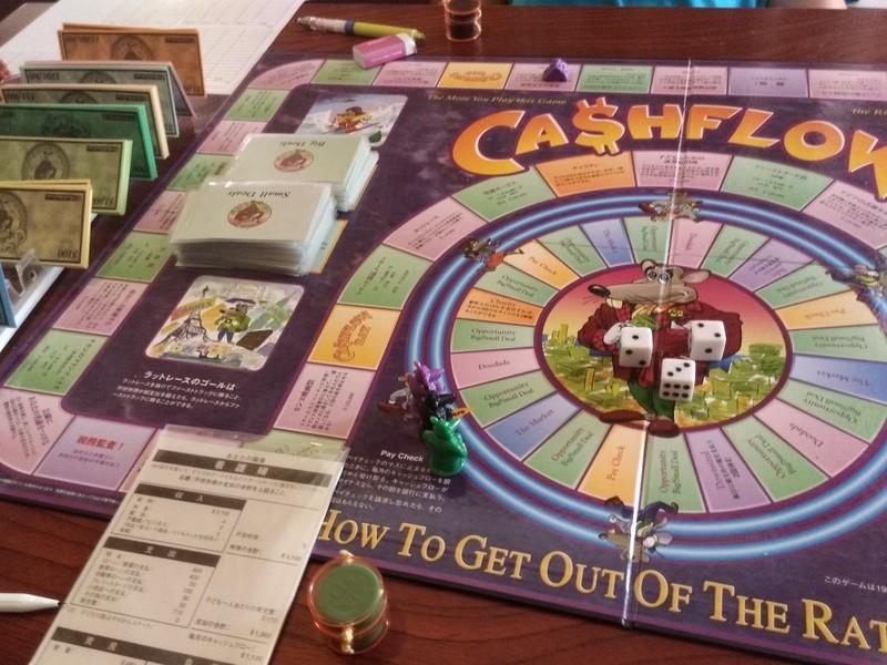 楽しく投資の基礎を学び試せ理解する$キャッシュフロー101ゲーム会の画像