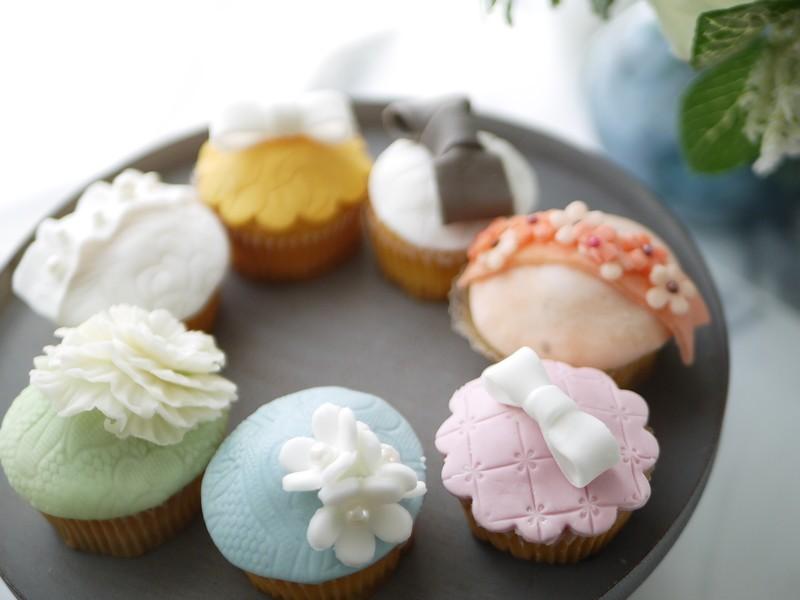 マシュマロフォンダント デコカップケーキ1day レッスン♡の画像