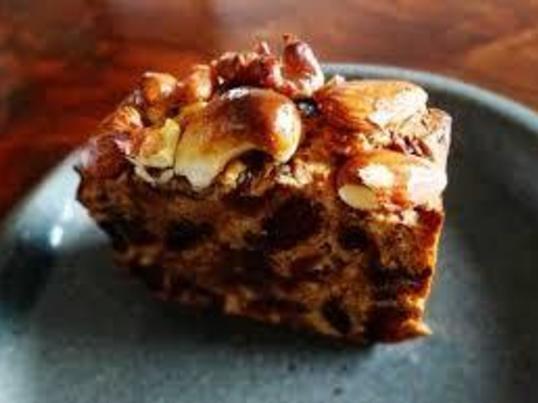 大人の味わいフルーツとナッツのケーキ&コーヒー淹れ方の画像