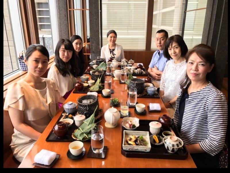 会席料理を頂きながら学ぶ和食のマナー講座の画像