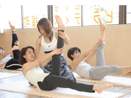 美姿勢トレーニングピラティス  美しい姿勢・引き締まり 中級者向けの画像