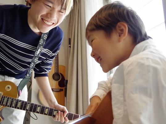 子供の習い事に最適!現役ギタリストが教える初心者向けギターレッスンの画像
