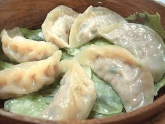 タケノコの食感がいいヘルシー蒸し餃子ワークショップの画像