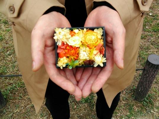 お花たっぷりBox Flower(S)手作りレッスンの画像