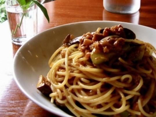 カフェパスタ〜絶品ミートソース!乾麺でも手打ちパスタのような食感をの画像